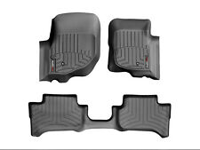 WeatherTech FloorLiner Mats for Dodge Durango/ Chrysler Aspen 2004-2009 - Black