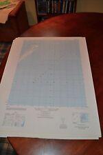 1940's Army topographic map Great Machipongo Inlet Virginia -Sheet 5858 I SW