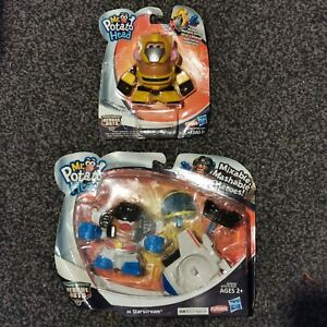 Mr Potato Head as Starscream & Bumblebee Transformer Rescue Bots