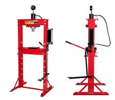 Presse hydraulique d 'atelier 30 Tonnes a pédale et manométre