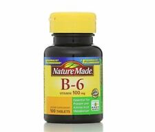 Nature Made Vitamin B-6 100 mg Tablets 100 Tablets