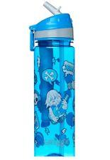 "SMIGGLE Kids Boy's Straight Drink Bottle ""CHIRPY"" Blue, Rock on"