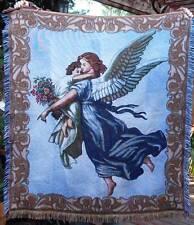American Weavers Wilhelm von Kaulbach GUARDIAN ANGEL Woven Blanket Throw