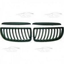 FRONT GRILLS + FRAMES FOR BMW E90 E91 05-08 LIMO + TOURING SPOILER BODY KIT