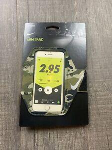🆕 Nike Running Fitness Arm Band For Smart Phones Marathon Color Camo OSFM $20