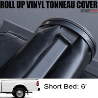 """Lock & Roll Up Soft Tonneau Cover For 83+ Ranger Styleside Std/Ext 6 Ft 72"""" Bed"""