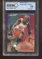 Michael Jordan 1995-96 Fleer #22 HOF Chicago Bulls GEM MINT 10