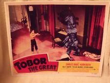 """1954 """"Tobor the Great"""" Lobby Card #6 11 X 14 Sci Fi Horror"""