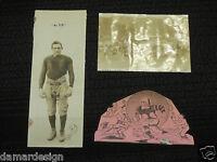 1926 AL FRY Long Beach Poly Jackrabbits FOOTBALL STAR Signed Autograph Photo LOT