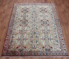 Traditional Vintage Persian Wool 210 x 145 cm Handmade Rugs Oriental Rug Carpet