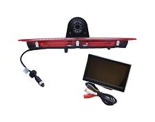 """Ford Transit IR LED Brake Light Rear View Reverse Camera + 5"""" LCD Dash Monitor"""
