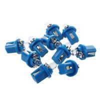 10 X T5 Blue LED Car Gauge Dash  Dashboard Light Bulb Lamp C7T7