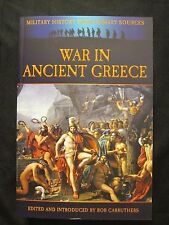 Book: War in Ancient Greece -  576 pages, approximately 40 b/w images and maps