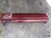 1986 NISSAN 300ZX NON-TURBO (2+2) REAR BUMPER COVER - RED OEM