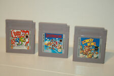 SUPER MARIO LAND + DONKEY KONG + BUBBLE BOBBLE _  NINTENDO GAMEBOY GAME BOY