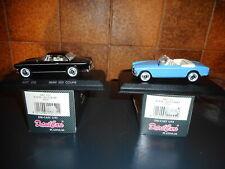 2 DETAIL CAR  1/43  BMW 503 1959 coupé + cabriolet + BOITES