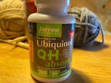 Jarrow Formulas Ubiquinol QH-absorb - 60 Softgels 200 mg each - Exp 2022