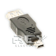 Adaptador Mini USB Macho a USB Hembra v89