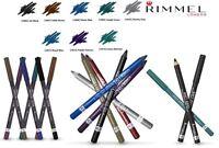 RIMMEL SCANDALEYES SPECIAL EYES EXAGGERATE LINER PENCIL BLACK DARK BLUE *CHOOSE*