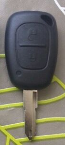 Key Complete Remote Control For Opel Vivaro Trafic Kangoo 2 Buttons 433mhz