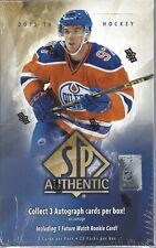2015-16 Upper Deck SP Authentic Hockey Sealed Hobby Box