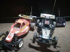 Radio shack Red and golden arrow Rc Car vintage parts
