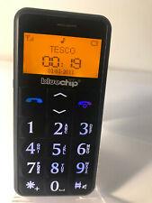 BlueChip BC5i Negro (Desbloqueado) Teléfono Móvil-simple botón grande