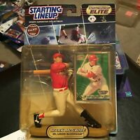 F45 2000 SLU ELITE MARK MCGWIRE CARDINALS Starting Line Up NIB FREE SHIPPING