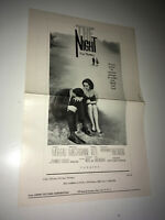 THE NIGHT Movie Pressbook Antonioni Mastroianni Jeanne Moreau LA NOTTE Italian