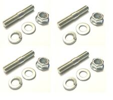 Yamaha XJR1300 - BZP Exhaust Studs/Washers/Nuts (pack of 4) (ref:040840)