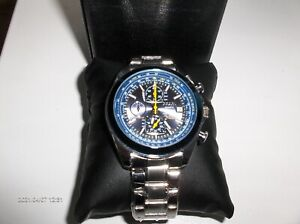 armbanduhr Citizen World chronograaf quartz Bleu Angels