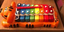 Little Tikes TIGER Xylophone Piano Red Sticks Jungle Jamboree Musical Toy