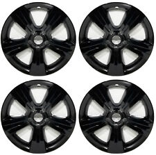 "(4) 2016 JEEP PATRIOT 17"" BLACK WHEEL SKINS LINERS HUBCAPS IWC IMP 373X-17"""