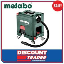 Metabo 18V Cordless Vacuum Cleaner Manual Filter Cleaning AS 18 L PC - 602021850