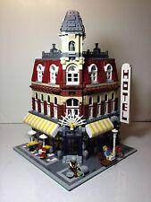 LEGO Cafe Corner 10182 Modular Building Set 100% Complete RARE RETIRED (7 SOLD)