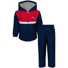 New England Patriots NFL Toddler Boy's Full-Zip Track Jacket & Pants Set: 2T-4T