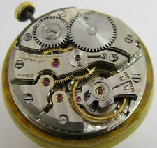 IWC 89 16 jewels watch movement & original dial for part ... diameter 27 mm