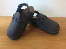 dcc0f7b3d5b New Kids Birkis Birkenstock Blue Shoe With Strap