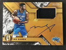 2018-19 Chornicles Gold Standard Mo Bamba Rookie RC Jersey Auto Autograph 51/99!