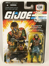 2008 GI Joe K-9 Officer & Attack Dog Mutt & Junkyard