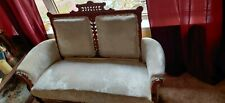 Antique Eastlake  Sofa Love Seat Settee 65""