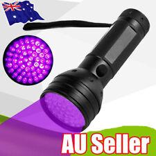 51 LED UV Flashlight Torch Light Lamp Ultraviolet Blacklight Aluminum 395 nM SN