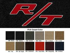 Lloyd Mats Dodge Charger R/T Logo Velourtex Front Floor Mats (2006 & Up)