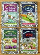 Lot 4 COMMANDER TOAD Books Jane Yolen in Space Planet of Grapes Black Hole L1