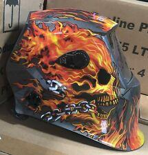 XDH700 4-sensors Auto Darkening Welding/Grinding Helmet Mask Hood true color