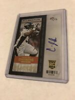 2013 PANINI CONTENDERS PLAYOFF TICKET AUTOGRAPH ROOKIE C.J. ANDERSON AUTO RC /99