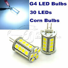 4x5W 30 LEDs G4 led corn bulbs White crystal chandelier replace 50W halogen bulb