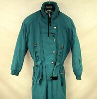 RODEO RETRO WOMENS SKI SUIT ONE PIECE size EU-40  ALL IN ONE SNOW SUIT