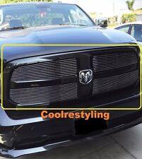 FOR 2013 14 15 Dodge Ram 1500 4pc Polished Billet Grille Grill Inserts