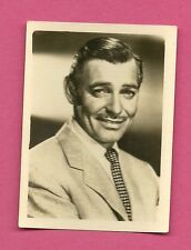 Clark Gable Vintage 1950 Greiling Movie Film Star Cigarette Card